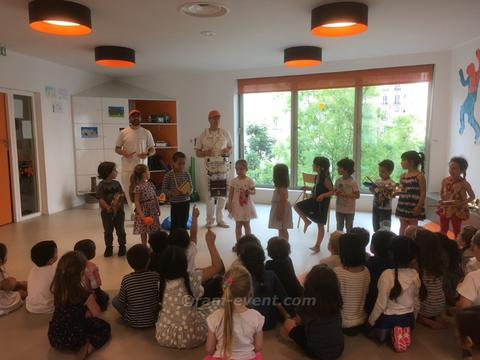 animations musicales enfants